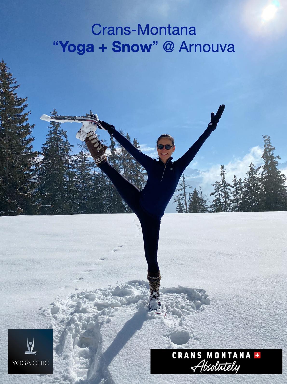 Yoga Chic Myriam Hernandez Yoga Snow 2102